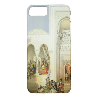 Capa iPhone 8/7 O palácio do Khan de Baku, península de Apsheron