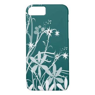 Capa iPhone 8/7 O primavera da cerceta floresce a caixa do iphone