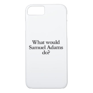 Capa iPhone 8/7 o que Samuel adams faria