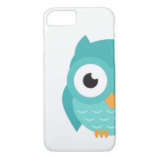 Capa iPhone 8/7 O verão inteligente 2017 da coruja
