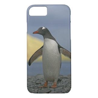 Capa iPhone 8/7 Oceano Atlântico sul, ilha sul de Geórgia,