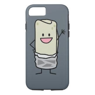 Capa iPhone 8/7 Olá! de ondulação do Burrito feliz de Carne Asada