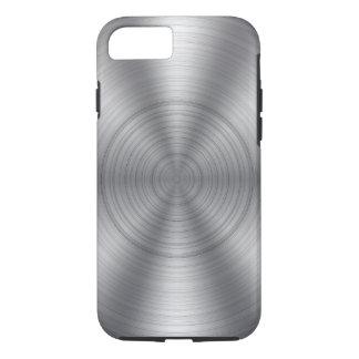 Capa iPhone 8/7 Olhar metálico de prata legal