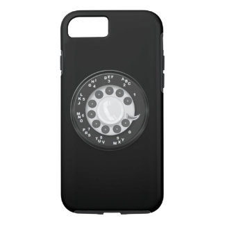 Capa iPhone 8/7 Olhar retro do seletor giratório