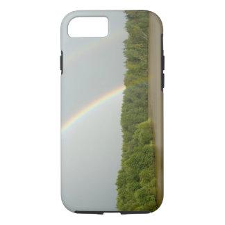 Capa iPhone 8/7 Opiniões típicas de Rússia, rio entre Goritzy &