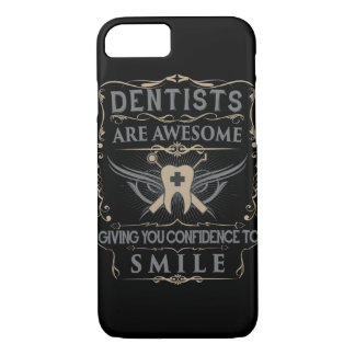 """Capa iPhone 8/7 Os """"dentistas são impressionantes!"""" caso do iPhone"""