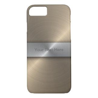 Capa iPhone 8/7 Ouro e prata