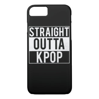 Capa iPhone 8/7 Outta reto Kpop