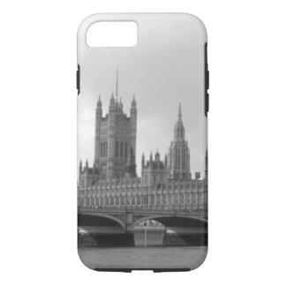Capa iPhone 8/7 Palácio branco preto de Westminster