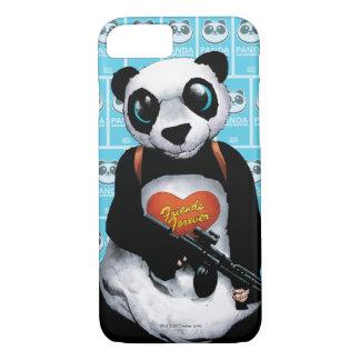 Capa iPhone 8/7 Panda do pelotão   do suicídio
