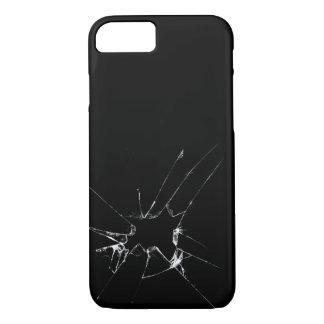 Capa iPhone 8/7 Parte traseira rachada de Iphone