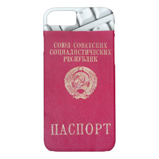 Capa iPhone 8/7 Passaporte soviético