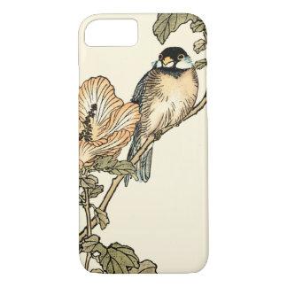 Capa iPhone 8/7 Pássaro oriental empoleirado no ramo