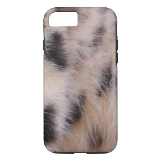Capa iPhone 8/7 Pele do leopardo de neve