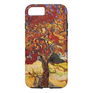 Capa iPhone 8/7 Pintura das belas artes da árvore de Mulberry de
