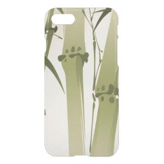 Capa iPhone 8/7 Pintura oriental do estilo, ramos 2 do bambu