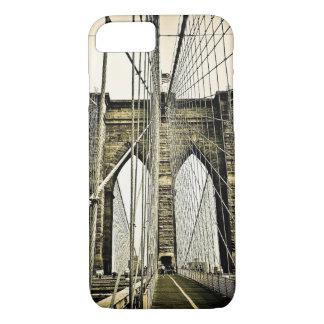 Capa iPhone 8/7 Ponte de Brooklyn da Nova Iorque