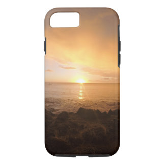 Capa iPhone 8/7 Por do sol havaiano