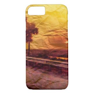 Capa iPhone 8/7 Por do sol sul de Florida