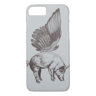 Capa iPhone 8/7 Porco com asas