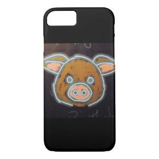 Capa iPhone 8/7 Porco de néon