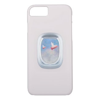 Capa iPhone 8/7 Porcos que voam altamente