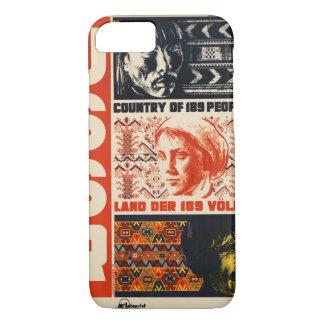 Capa iPhone 8/7 Poster das viagens vintage de URSS Rússia