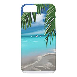 Capa iPhone 8/7 Praia de Takemeaway
