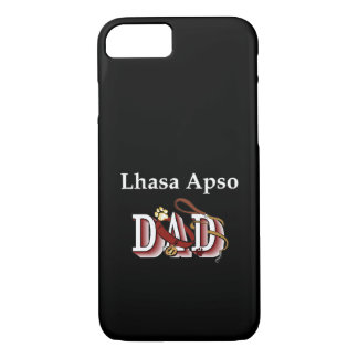 Capa iPhone 8/7 Presentes do pai de Lhasa Apso