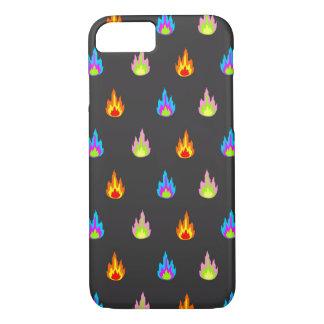 Capa iPhone 8/7 Preto dos fogos