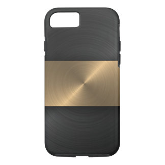 Capa iPhone 8/7 Preto e ouro