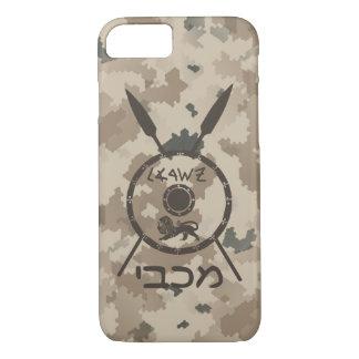 Capa iPhone 8/7 Protetor e lanças de Maccabee do deserto