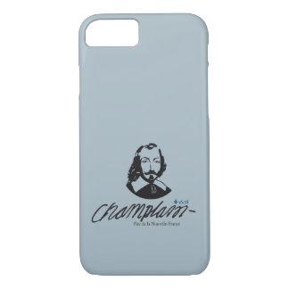 Capa iPhone 8/7 Quebeque Samuel Champlain 1608 Pai Notícia-França