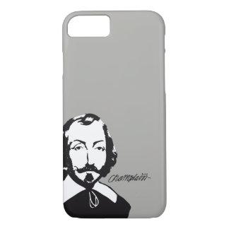 Capa iPhone 8/7 Quebeque Samuel de Champlain 1608 Assinatura