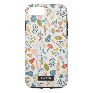Capa iPhone 8/7 Queda botânica