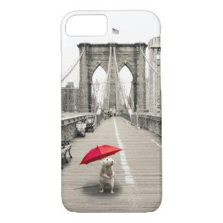 Capa iPhone 8/7 Rato de Marty no exemplo do iPhone 7 da ponte de
