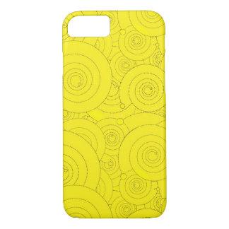 Capa iPhone 8/7 Redemoinhos do amarelo!
