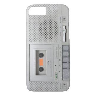 Capa iPhone 8/7 Registrador de gaveta do vintage