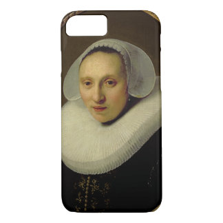 Capa iPhone 8/7 Retrato de Cornelia Pronck, esposa de Albert