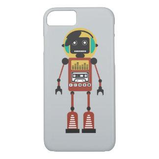 Capa iPhone 8/7 Robô de rádio retro