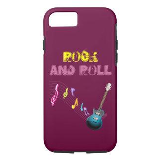 Capa iPhone 8/7 Rock and roll eu telefono ao caso 6