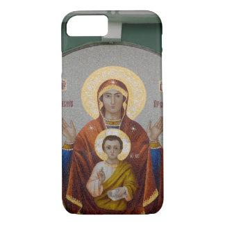 Capa iPhone 8/7 Rússia, Moscovo, monte do pardal, igreja de
