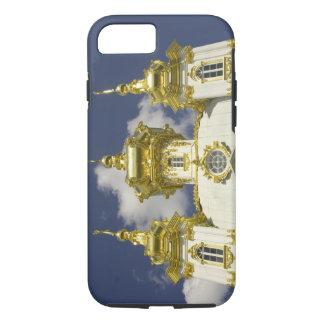 Capa iPhone 8/7 Rússia. Petrodvorets. Palácio de Peterhof. Peter