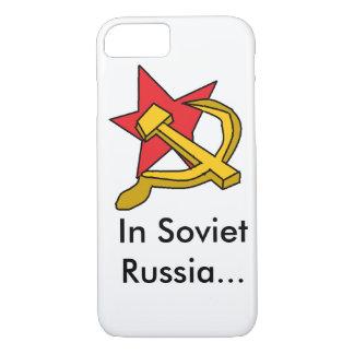 Capa iPhone 8/7 Rússia soviética