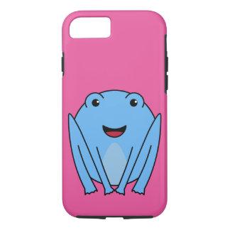 Capa iPhone 8/7 sapo azul do kawaii