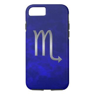 Capa iPhone 8/7 scorpio de prata - azul