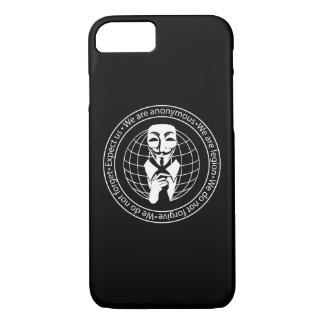 Capa iPhone 8/7 Selo anónimo