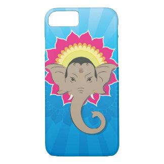 Capa iPhone 8/7 Senhor Ganesha Digital Ilustração com arte da