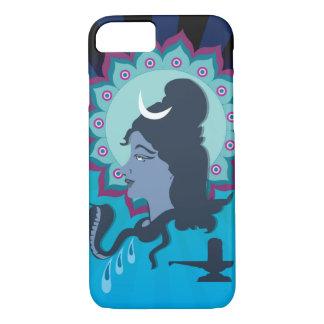 Capa iPhone 8/7 Senhor Shiva Digital Ilustração com arte da