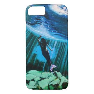 Capa iPhone 8/7 Sereia subaquática pelo exemplo de John Fermin